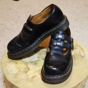 Dr. Martens Shoes - Dr. Martens black Maryjane shoes.
